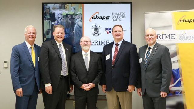 Shape Partners with SME's PRIME Program
