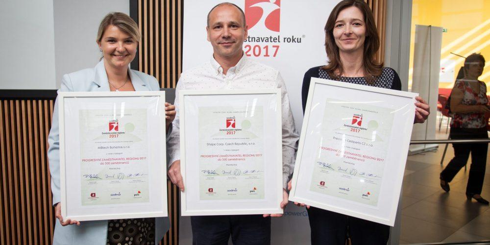 """Czech Shape Named """"Employer of the Year"""" Third Time"""
