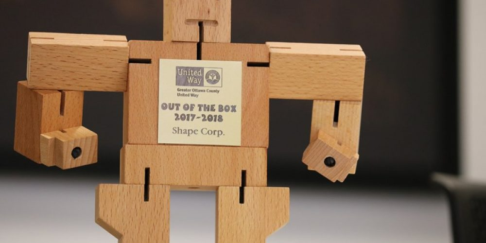Shape Recognized for Thinking Out of the Box!