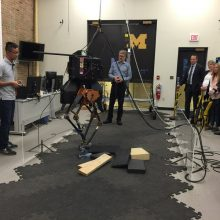 Inspiration from U of M: Autonomous Vehicles, Robots and Engineering Students