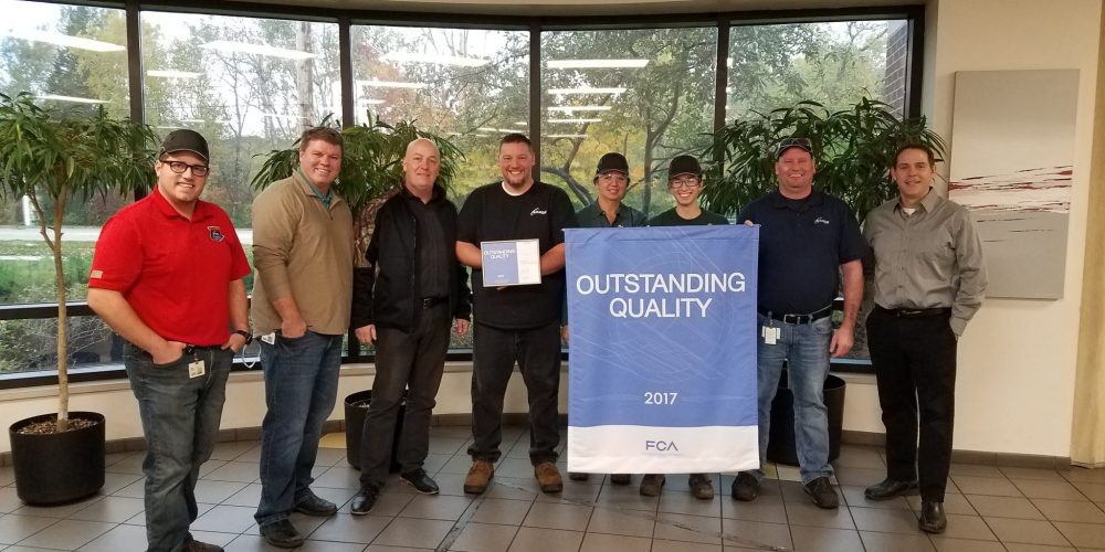 Outstanding Quality Recognized by the FCA