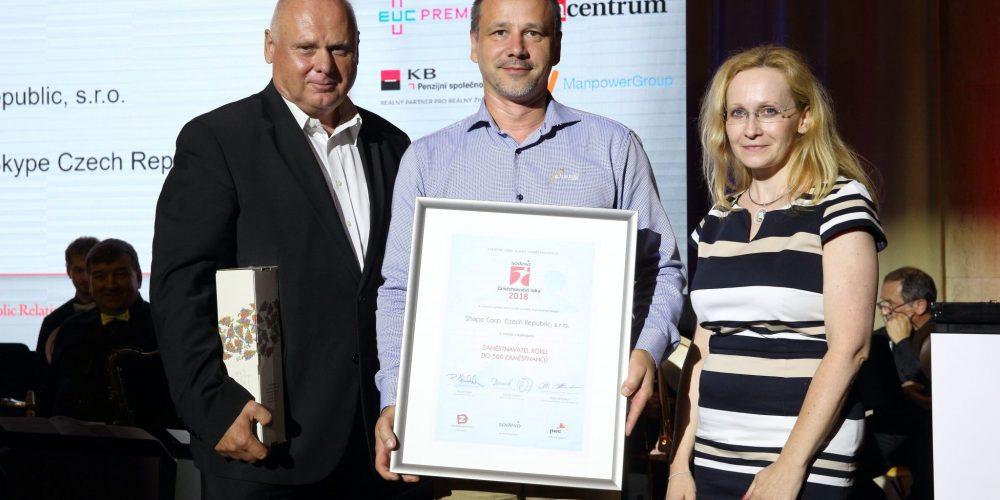 Shape Czech Awarded Best Employer