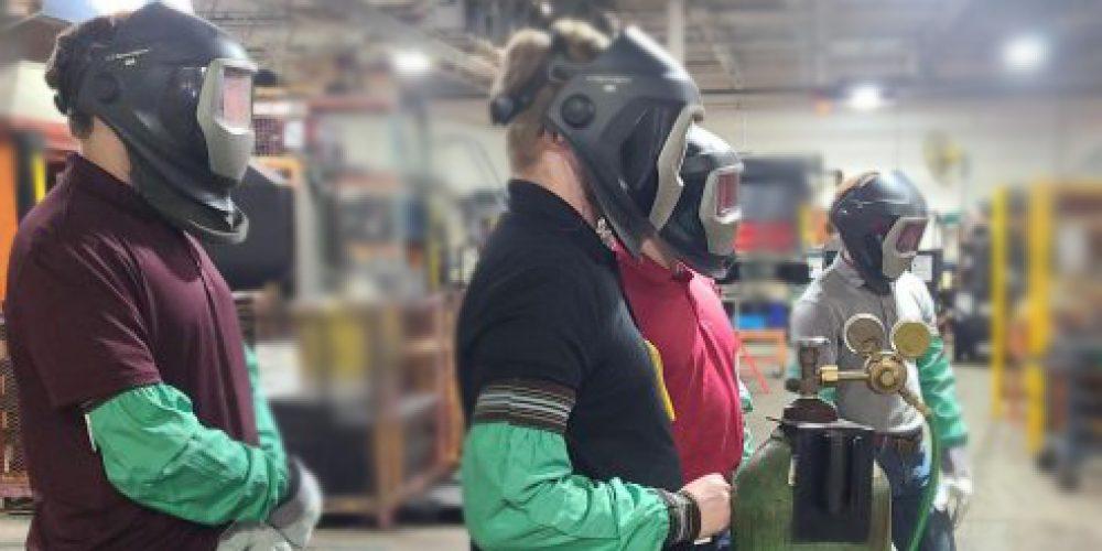 Summer Interns Participate in Safety Training