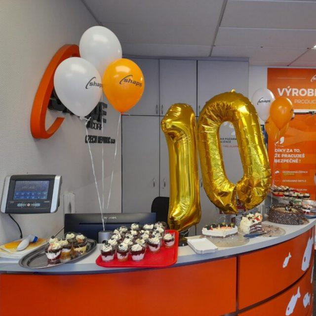 Shape Czech Celebrates 10th Anniversary